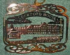 2008 Christmas Ornament: Crawford House